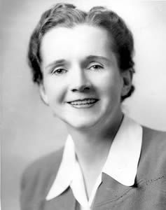 NWHM Rachel Louise Carson (27 พฤษภาคม 1907 – 14 เมษายน 1964) เป็นชาวอเมริกัน