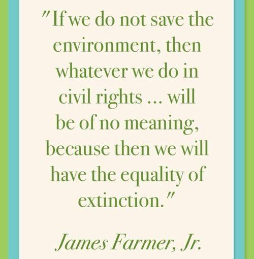 นักกิจกรรมด้านสิทธิพลเมือง James Farmer, Jr. #quotation (คุณสามารถฟังเขาได้ว่า th …